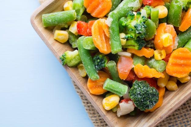 Légumes surgelés.