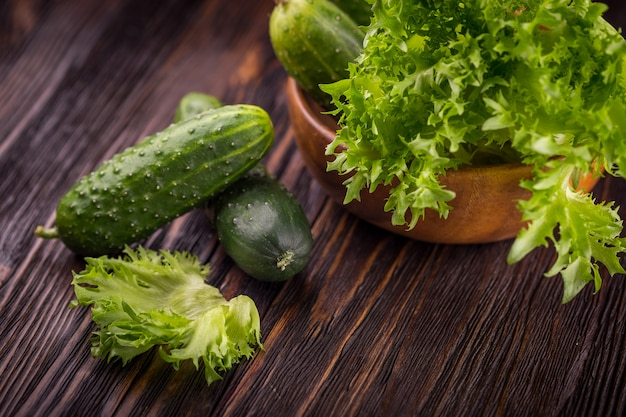 Légumes verts frais