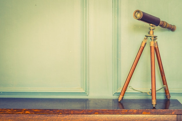 Lentille binoculaire vintage