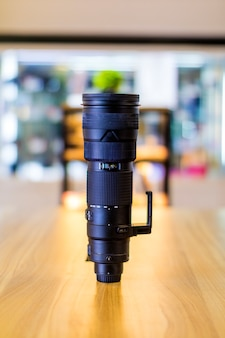 La lentille de la caméra est un oeil pour la caméra. situé à bandung, indonésie