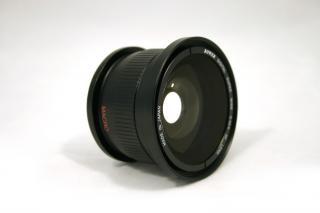 Lentille caméra, la photographie