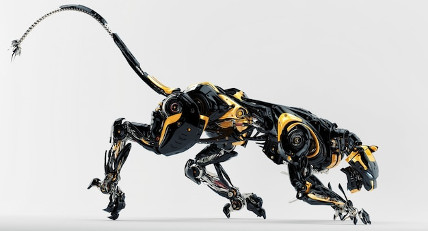 Léopard robot incroyable
