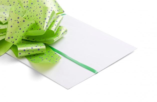 Lettre de félicitations pour la saint-valentin isolé