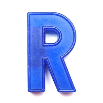 Lettre majuscule magnétique r