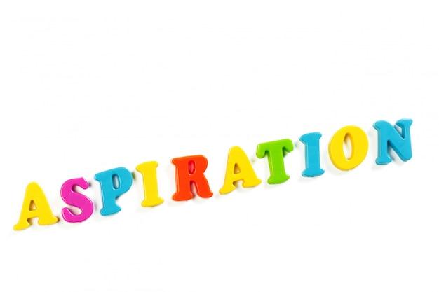 Lettres de l'alphabet jouet coloré