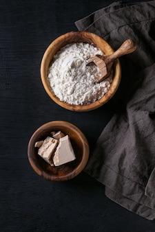 Le levain pour la cuisson du pain