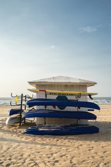 Lever du soleil sur la plage de ho tram, ba ria vung tau