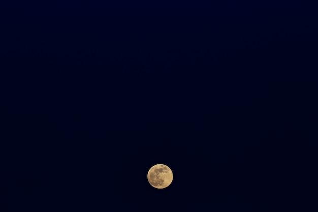 Le lever de la pleine lune