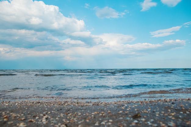 Lever de soleil à la mer