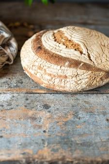 Levure de seigle blé panifiable ou levain cuisson maison bio naturel prêt à manger