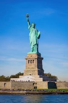 Liberty island et statue de la liberté