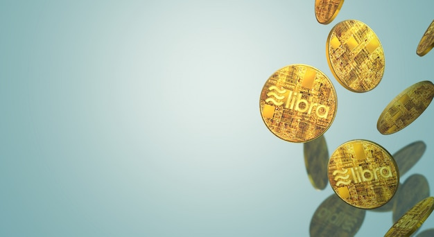 La libra facebook rend 3d le contenu de crypto-monnaie.