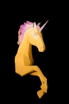 Licorne - un être mythique symbolisant l'intégrité
