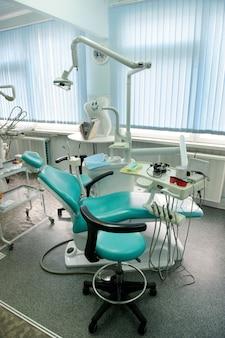 Lieu de travail du dentiste dans le cabinet dentaire, accessoires