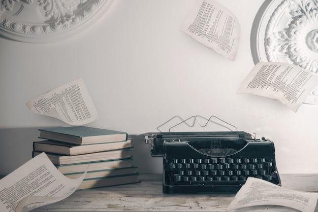 Lieu de travail d'écrivain