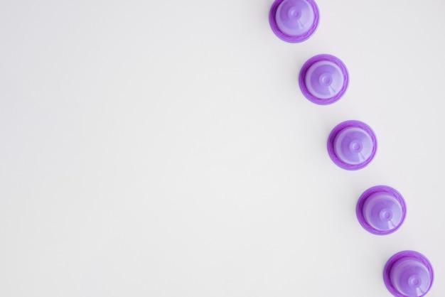 Ligne de capsules de café