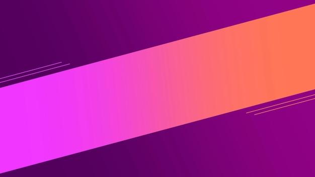Ligne de dégradé violet géométrique de mouvement, abstrait rétro. style d'illustration 3d élégant et luxueux pour le modèle d'entreprise et d'entreprise
