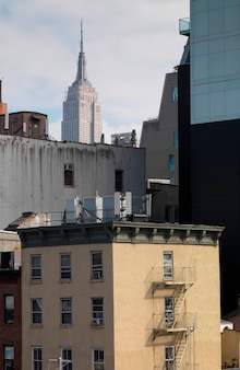Ligne d'horizon, de, manhattan, new york, usa