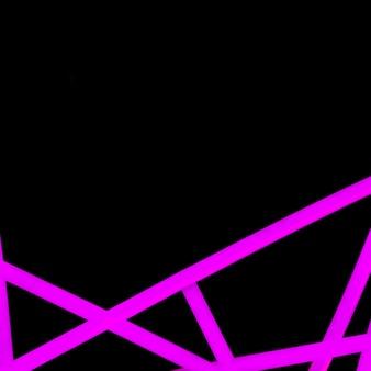 Ligne de néon rose abstraite sur fond