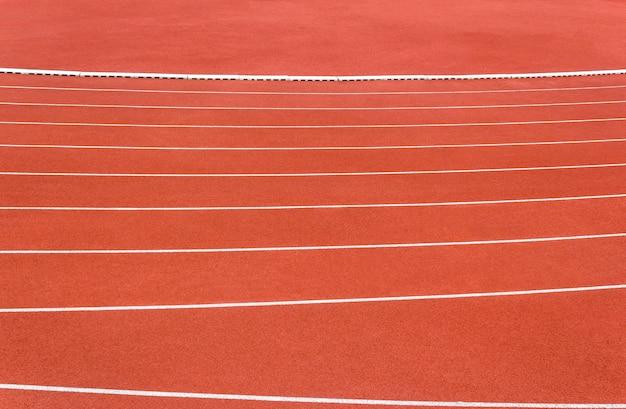 Ligne de piste de course