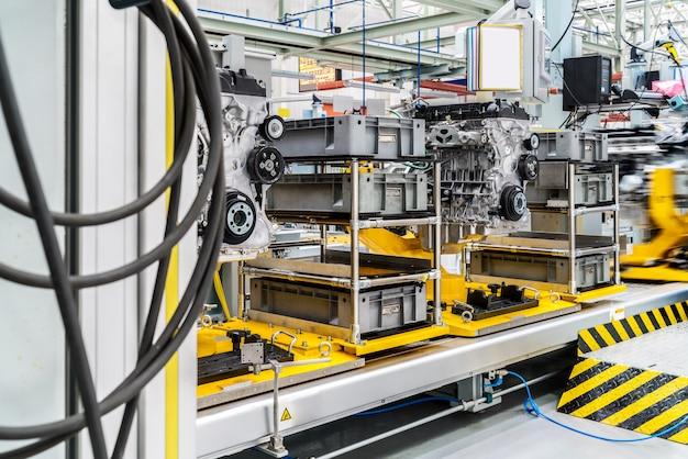 Ligne de production automobile