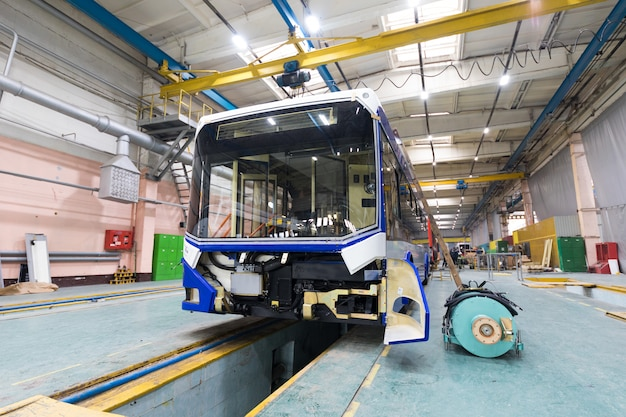 Ligne de production de trolleybus