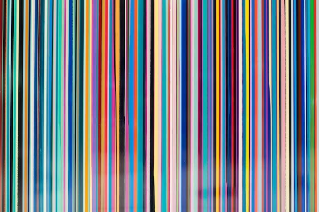 Ligne rayée colorée