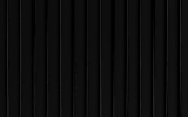 Ligne sombre résumé espace vide arrière-plan rendu 3d