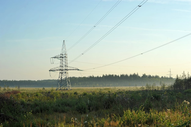Ligne de transmission à haute tension