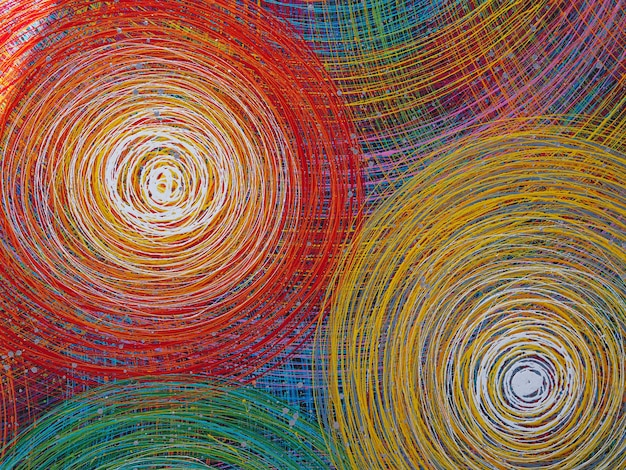 Lignes abstraites fond coloré avec texture. fond de fête