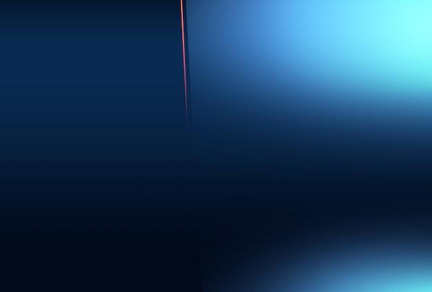 Lignes abstraites et fond d'effets de lumière