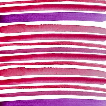 Lignes aquarelles peintes à la main