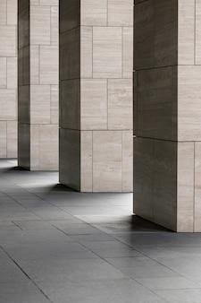 Lignes d'architecture de fond abstrait et détail de l'architecture moderne