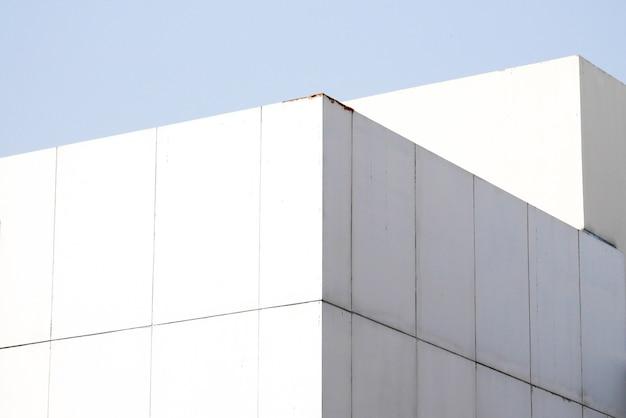 Lignes d'architecture de fond abstrait. détail d'architecture moderne