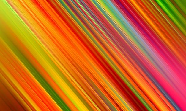Lignes de bande diagonale multicolore abstrait