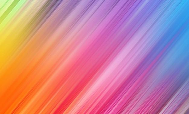 Lignes de bande diagonale rose jaune et bleu abstrait