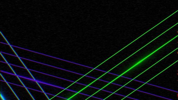 Lignes colorées rétro, abstrait. illustration 3d géométrique dynamique élégante et luxueuse des années 80 et 90