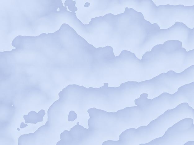 Lignes de contour topographiques abstraites en rendu 3d.