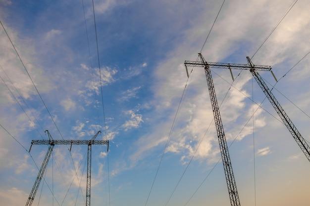 Les lignes électriques