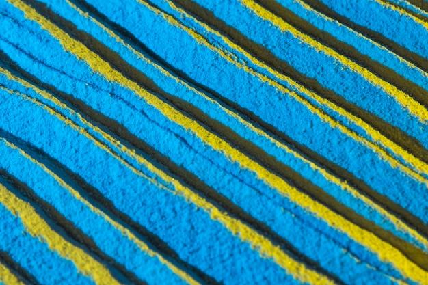 Lignes en forme de sable obliques