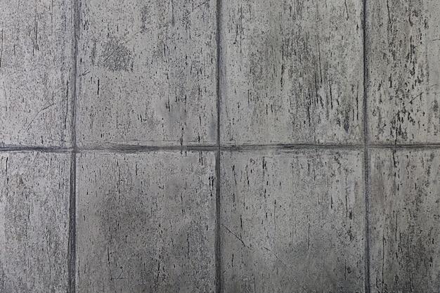 Lignes géométriques sur dalles