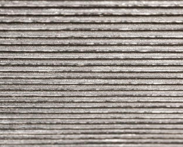Lignes grises horizontales de fond métallique