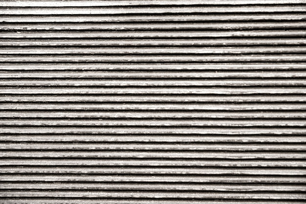 Lignes horizontales de fond métallique