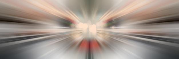 Lignes de lumière dynamiques. lumière du point central.