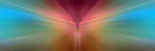 Lignes lumineuses colorées dynamiques.