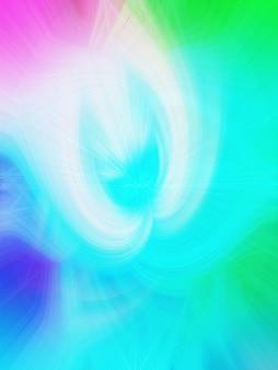 Lignes et vibrations vague de synthé vague rétro vaporwave esthétique futuriste style néon lumineux horizontal