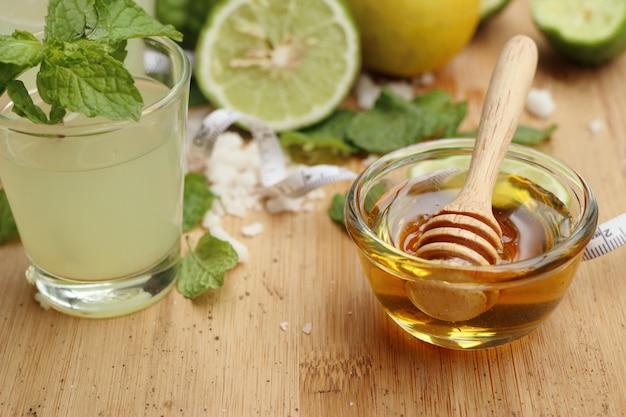 Lime kaffir et citron