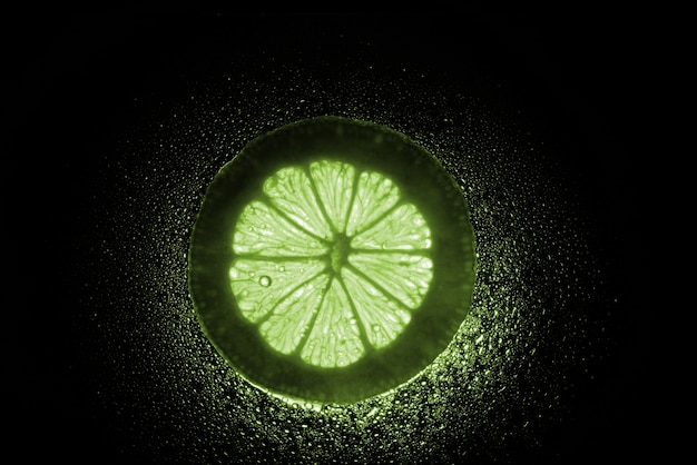 Lime tranche