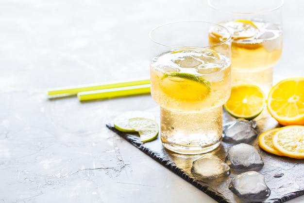 Limonade d'agrumes maison