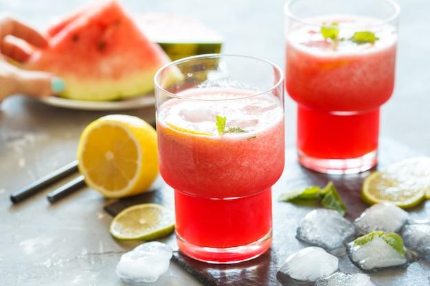 Limonade de melon d'eau